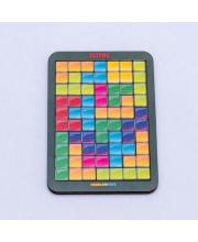 Логическая игра Тетрис малый цветная мозайка Woodland