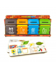 Обучающий набор Сортировка мусора Woodland