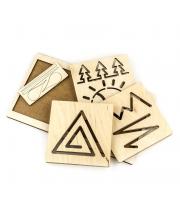 Обучающий набор Межполушарная доска Треугольник Woodland