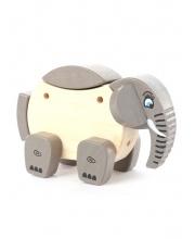 Конструктор Деревянный Слон 19 см SYMPLO