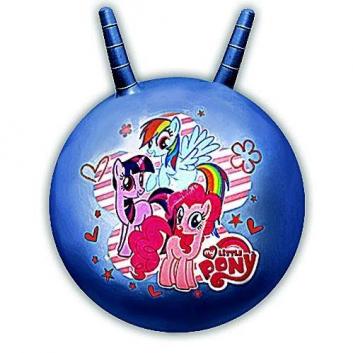 Мяч-попрыгун с рожками My Little Pony 55 см