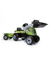 Трактор педальный строительный с прицепом Smoby
