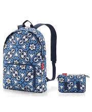 Рюкзак складной Mini maxi floral 1 Reisenthel