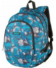 Рюкзак 3 zip Abstract blue Target