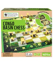 Шахматы Впадина конго Shantou Gepai