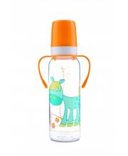 Бутылочка тритановая Cheerful animals лошадка Canpol Babies