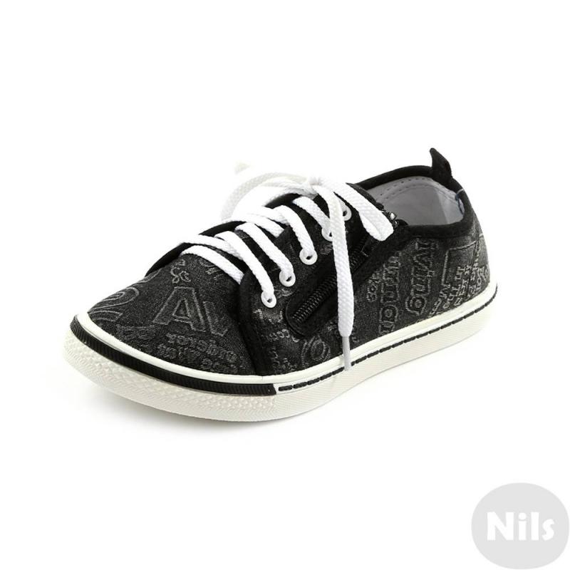 КедыКеды черногоцвета маркиТоп-Топдля мальчиков.<br>Стильные кеды на шнуровке белого цвета дополнены молнией для большего удобства.Подошва из ПВХ легкая и упругая,такжеимеет высокую стойкость к истиранию, такая обувь прослужит долго.Стелька из натуральной кожи позволяет ножкам дышать и отличается исключительной мягкостью.<br><br>Размер: 31<br>Цвет: Черный<br>Пол: Для мальчика<br>Артикул: 641898<br>Страна производитель: Россия<br>Сезон: Весна/Лето<br>Материал верха: Текстиль<br>Материал стельки: Натуральная кожа<br>Материал подошвы: ПВХ (поливинилхлорид)<br>Бренд: Россия