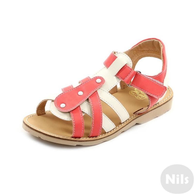 СандалетыСандалеты розовогоцвета марки Топ-Топдлядевочек.<br>Стильные сандалеты на липучке выполнены в насыщенном цвете и выгодно подчеркнуты вставками белогоцвета.Подошва из ТЭП легкая и упругая,такжеимеет высокую стойкость к истиранию, такая обувь прослужит долго. Стелька из натуральной кожи позволяет ножкам дышать и отличается исключительной мягкостью.<br><br>Размер: 27<br>Цвет: Розовый<br>Пол: Для девочки<br>Артикул: 641866<br>Бренд: Россия<br>Страна производитель: Россия<br>Сезон: Весна/Лето<br>Материал верха: Искусственная кожа<br>Материал стельки: Натуральная кожа<br>Материал подошвы: ТЭП (термопластик)
