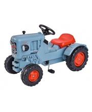 Детский педальный трактор погрузчик Eicher BIG