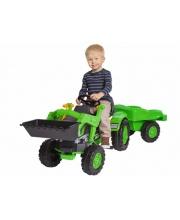 Детский педальный трактор с прицепом BIG