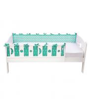 Бортики в кровать Z- Bort mint Shapito by Giovanni