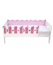 Бортики в кровать Z- Bort pink Shapito by Giovanni