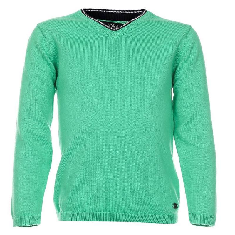 СвитерСвитер зеленогоцвета марки Mayoralдля мальчиков.<br>Свитернасыщенного цвета выполнен из чистого хлопка. V-образный вырез выгодно подчеркнут темно-синей окантовкой.<br><br>Размер: 7 лет<br>Цвет: Зеленый<br>Рост: 122<br>Пол: Для мальчика<br>Артикул: 640624<br>Страна производитель: Бангладеш<br>Сезон: Весна/Лето<br>Состав: 100% Хлопок<br>Бренд: Испания