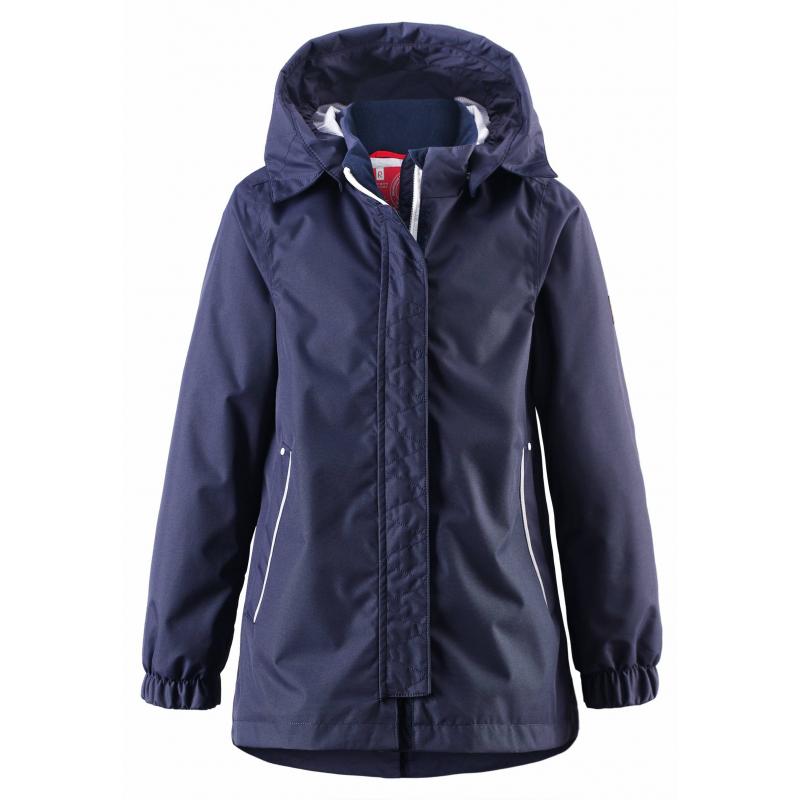 КурткаКуртка темно-синегоцвета марки REIMA для мальчиков.<br>Куртка-парка выполнена из водоотталкивающего материала с грязеотталкивающими свойствами.Куртка-парка с подкладкой-сеточкой выполнена в насыщенномцвете, имеет съемный капюшон на кнопках, спереди дополнена карманами, а сзади кулиской на талии. Манжеты на резинкахобеспечивают плотное прилегание и защищают от ветра. Светоотражающие детали на куртке обеспечивают безопасность в темное время суток.<br><br>Размер: 10 лет<br>Цвет: Темносиний<br>Рост: 140<br>Пол: Для мальчика<br>Артикул: 642822<br>Страна производитель: Китай<br>Сезон: Весна/Лето<br>Коллекция: 2016<br>Состав: 100% Полиэстер<br>Состав подкладки: 100% Полиэстер<br>Бренд: Финляндия<br>Вид застежки: Молния<br>Покрытие: Полиуретан<br>Тип: Демисезон<br>Серия: Reima