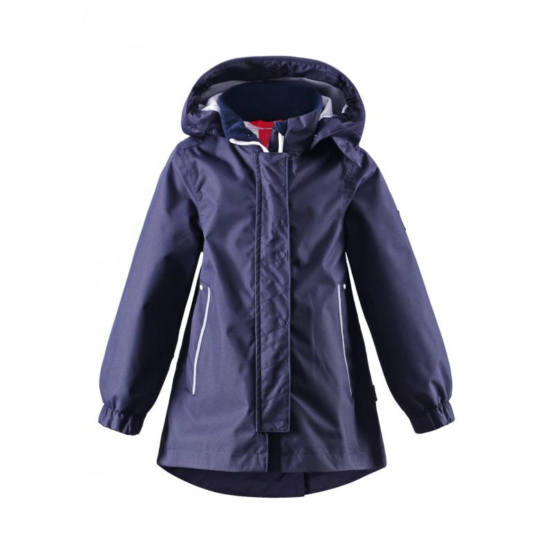 КурткаКуртка темно-синегоцвета марки REIMA для мальчиков.<br>Куртка-парка выполнена из водоотталкивающего материала с грязеотталкивающими свойствами.Куртка-парка с подкладкой-сеточкой выполнена в насыщенномцвете, имеет съемный капюшон на кнопках, спереди дополнена карманами, а сзади кулиской на талии. Манжеты на резинкахобеспечивают плотное прилегание и защищают от ветра. Светоотражающие детали на куртке обеспечивают безопасность в темное время суток.<br><br>Размер: 5 лет<br>Цвет: Темносиний<br>Рост: 110<br>Пол: Для мальчика<br>Артикул: 642814<br>Бренд: Финляндия<br>Страна производитель: Китай<br>Сезон: Весна/Лето<br>Коллекция: 2016<br>Состав: 100% Полиэстер<br>Состав подкладки: 100% Полиэстер<br>Вид застежки: Молния<br>Покрытие: Полиуретан<br>Тип: Демисезон<br>Серия: Reima