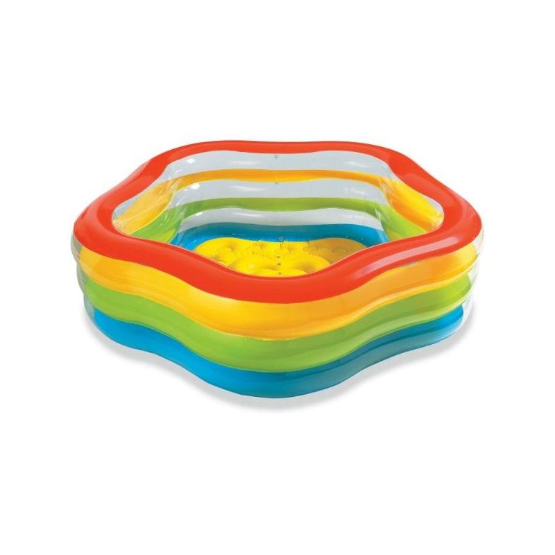 Бассейн надувной Летние цвета от Nils