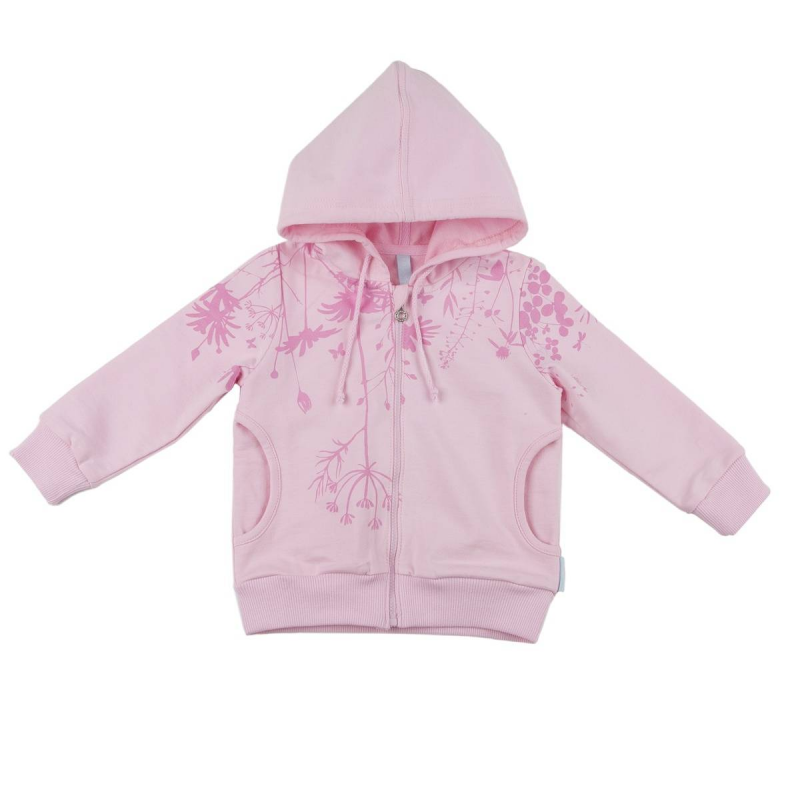 ТолстовкаТолстовка розовогоцвета марки KOGANKIDS для девочек.<br>Толстовка на молнии, выполненная из чистого хлопка, декорирована принтом с изображением луговых трав. Модель дополнена манжетами,карманами и шнурком на капюшоне.<br><br>Размер: 18 месяцев<br>Цвет: Розовый<br>Рост: 86<br>Пол: Для девочки<br>Артикул: 643456<br>Страна производитель: Узбекистан<br>Сезон: Весна/Лето<br>Состав: 100% Хлопок<br>Бренд: Россия<br>Вид застежки: Молния