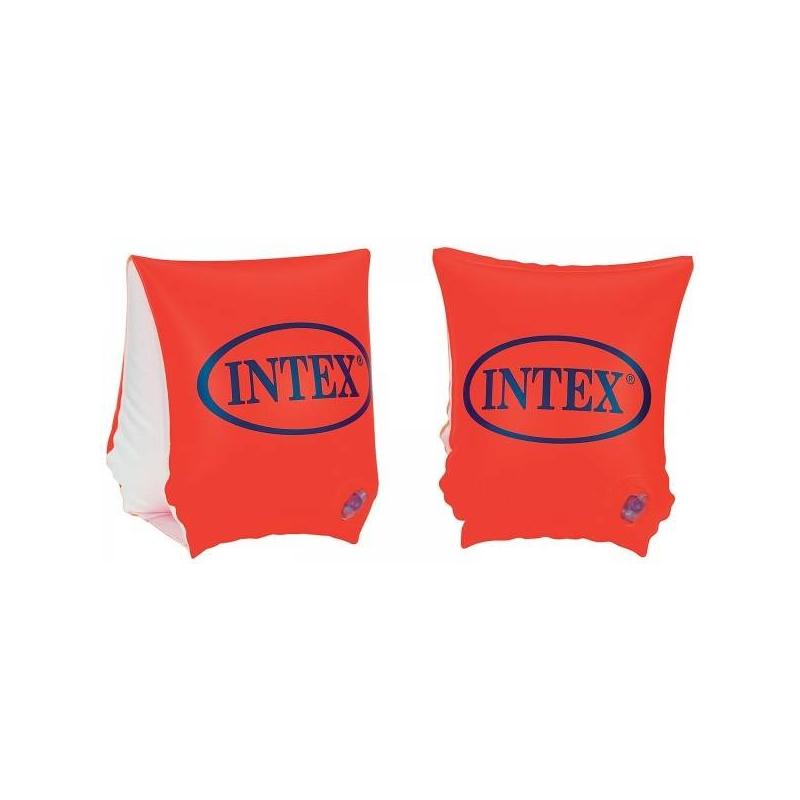 Нарукавники надувныеНарукавники надувныемарки Intex.<br>Надувные нарукавники помогут ребенку научиться плавать. Подходят для детей в возрасте от 3 до 6 лет. Нарукавники помогают малышу тренировать мышцы ног и рук, безопасно учиться плавать без помощи взрослых.Нарукавники выполнены из ПВХ, устойчивы к воздействию прямых солнечных лучей (хранить их рекомендуется при температуре не ниже 0 градусов). Яркий красный цвет нарукавников делают ребенка заметным, когда он купается в водоеме или бассейне. Используя их, ребенок безбоязненно, а главное безопасно может учиться плавать. Нарукавники в достаточной степени поддерживают малыша на поверхности воды, чтобы не испытывать страха.<br>Материал: ПВХ.<br>Размеры: 23х15 см.<br><br>Возраст от: 3 года<br>Пол: Не указан<br>Артикул: 634209<br>Бренд: Китай<br>Размер: от 3 лет