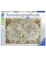 Пазл Историческая карта 1500 элементов RAVENSBURGER