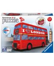 3D Пазл Лондонский автобус 216 элементов