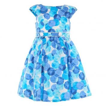 Девочки, Платье LP Collection (голубой)643254, фото