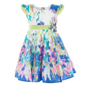 Девочки, Платье LP Collection (голубой)643272, фото