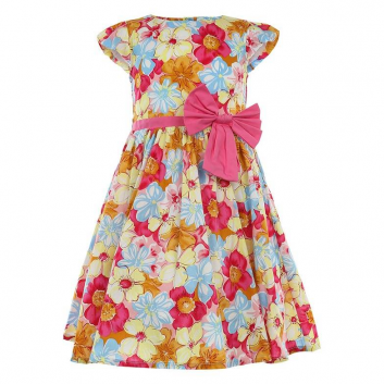 Девочки, Платье LP Collection (малиновый)643230, фото