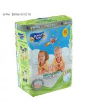 Подгузники для детей L 7-14 кг 14 шт Мягкая забота Солнце и Луна