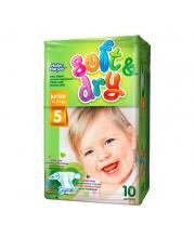 Детские подгузники Soft&Dry junior 11-25 кг 10 шт Helen Harper