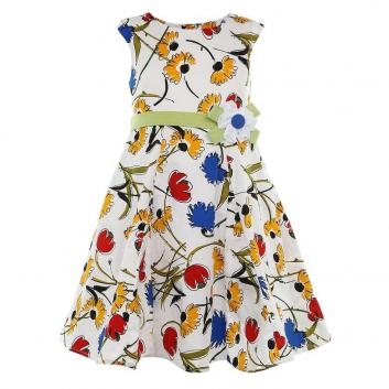 Девочки, Платье LP Collection (красный)643339, фото