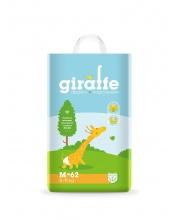 Подгузники Giraffe M 6-11 кг 62 шт Lovular