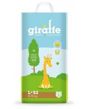 Подгузники Giraffe L 8-15 кг 52 шт Lovular