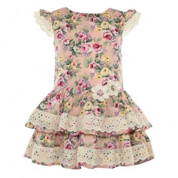Девочки, Платье LP Collection (розовый)643278, фото