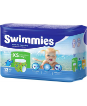 Детские трусики для плавания Swimmies XS 4-9 кг 13 шт Helen Harper