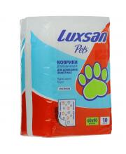 Коврики Premium для животных 60х90 10 шт Luxsan
