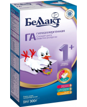 Сухая молочная смесь ГА 1+ 300 гр Беллакт