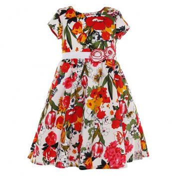 Девочки, Платье LP Collection (красный)643319, фото