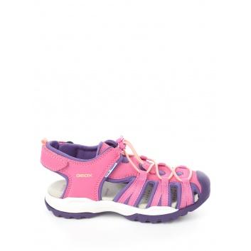 Обувь, Сандалии J Borealis Girl GEOX (фиолетовый)366071, фото