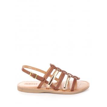 Обувь, Босоножки J Sandal Eolie Girl GEOX (коричневый)366107, фото