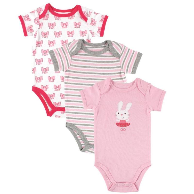HUDSON BABY Комплект боди детское hudson baby hudson baby боди цыплёнок 3 шт бирюзово розовый