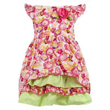 Девочки, Платье LP Collection (малиновый)000442, фото