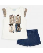 Комплект блузка и шорты MAYORAL
