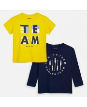 Комплект футболка и джемпер MAYORAL