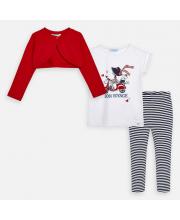 Комплект Болеро футболка и брюки