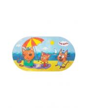 Три кота коврик для ванны Полдень Затейники