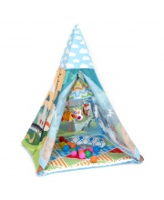 Коврик с игрушками Tent-With-Me Mat Funkids
