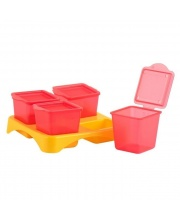 Контейнеры для хранения еды Гравитационные контейнеры Lubby