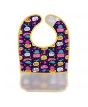 Фартук нагрудный с карманом на липучке Малыши и малышки Lubby