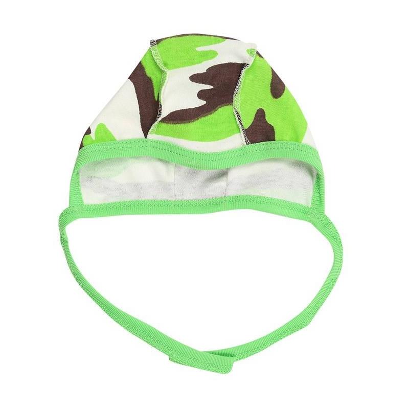 ЧепчикЧепчикбежевогоцвета марки КотМарКот для мальчиков.<br>Чепчик выполнен из чистого хлопка и декорирован принтом в камуфляжномстиле и яркой зеленой окантовкой, а также дополнен удобными завязками.<br><br>Размер: 9 месяцев<br>Цвет: Бежевый<br>Размер: 48<br>Пол: Для мальчика<br>Артикул: 641978<br>Страна производитель: Россия<br>Сезон: Всесезонный<br>Состав: 100% Хлопок<br>Бренд: Россия
