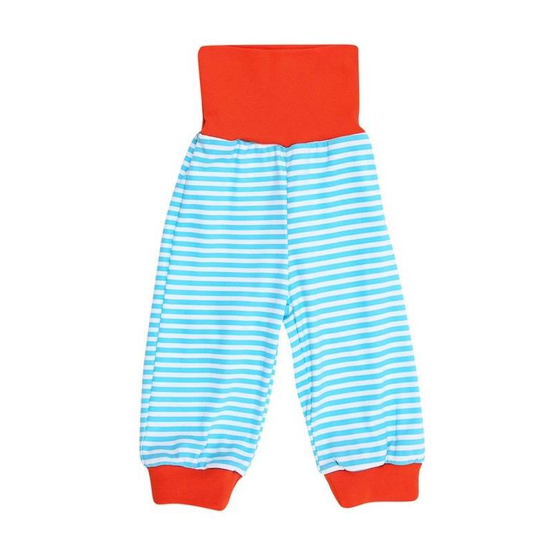 БрюкиБрюки голубогоцвета марки КотМарКот для мальчиков.<br>Брюки выполнены из чистогохлопка и декорированы принтом в белую полоску, а также яркими оранжевыми манжетами и поясом. Модель дополнена широким эластичным поясоми манжетами на штанинах.<br><br>Размер: 9 месяцев<br>Цвет: Голубой<br>Рост: 74<br>Пол: Для мальчика<br>Артикул: 641997<br>Страна производитель: Россия<br>Сезон: Всесезонный<br>Состав: 100% Хлопок<br>Бренд: Россия